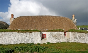 Blackhouse, Tiree, Hebridene (foto: Kirsti Jareg)