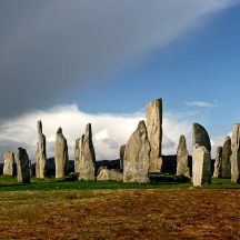 Calanais stonecircel, Lewis, The Outer Hebredies (photo: Kirsti Jareg)