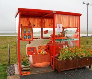Buss shelter, Shetland
