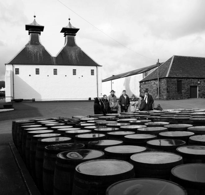 Ardbeg whiskydestilleri (copyright Kirsti MacDonald Jareg)
