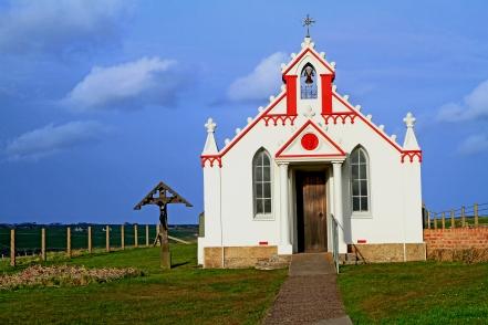 Det italienske kapell, Orkney (Photo: Kirsti MacDonald Jareg)