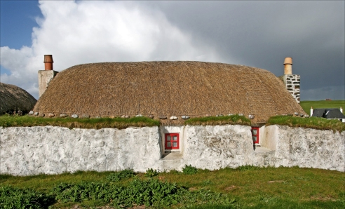 Tiree blackhouse (Photo: Kirsti MacDonald Jareg)