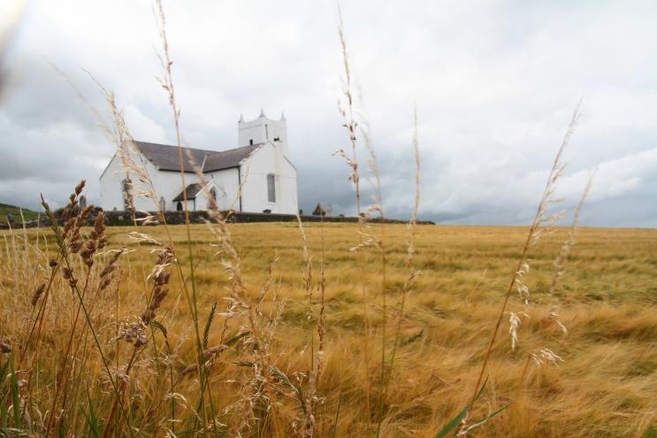 Ballintoy Church, Antrim (Photo: Kirsti MacDonald Jareg)