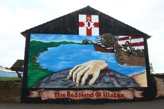Belfast murials (Photo: Kirsti MacDonald Jareg)