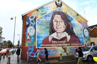 Bobby Sands, Belfast (Photo: Kirsti MacDonald Jareg)