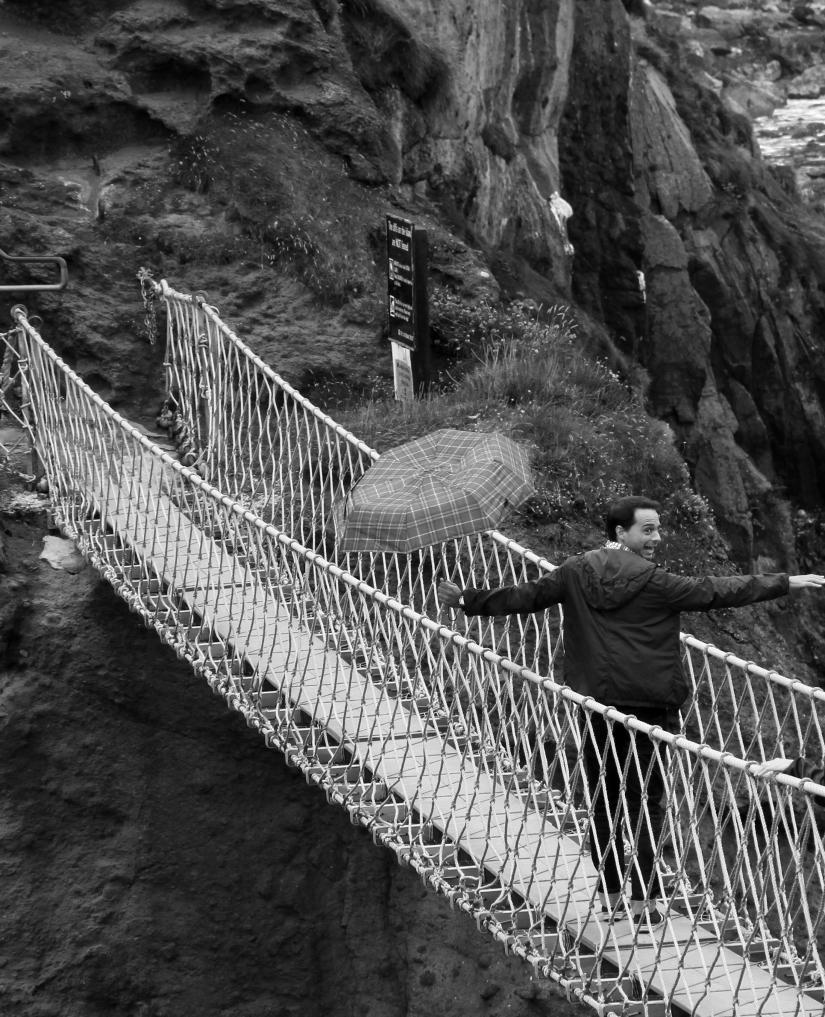 Carrick-a-Rede ropebridge, Antrim