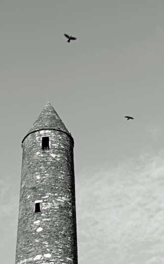 Glendalough Roundtower (Photo: Kirsti MacDonald Jareg)